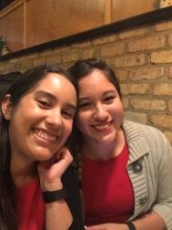 Sister and I!