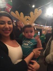 Celena and her baby boy, Jeremy