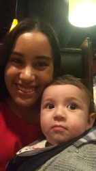 The handsome baby Jeremy and I!
