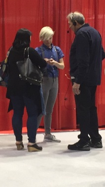 Being a stalker on the showfloor...