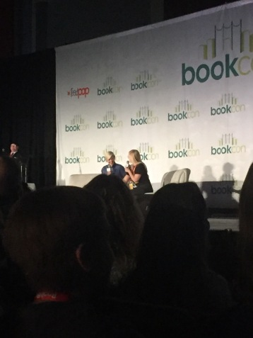 Hannah Hart on stage