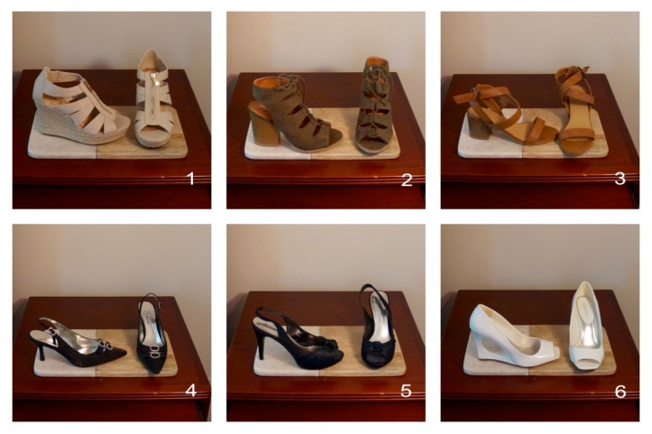 Wedges, Heels, and Special Occasion Shoes