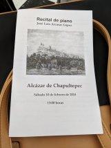 piano recital chapultepec
