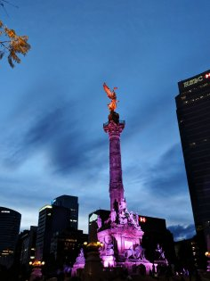 el angel de la independencia paseo de la reforma mexico city