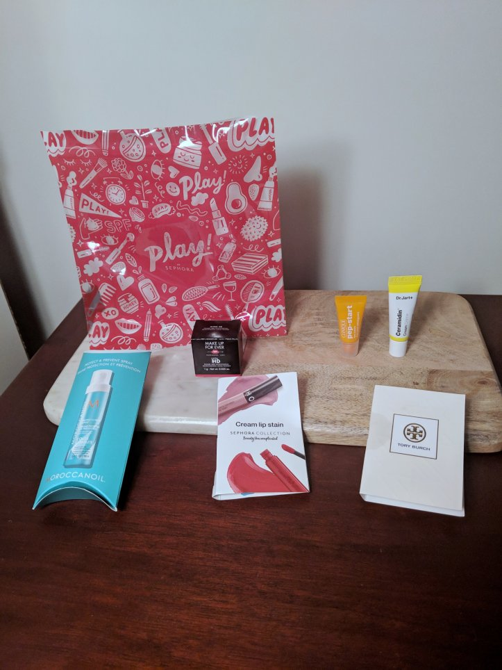 my november sephora play box