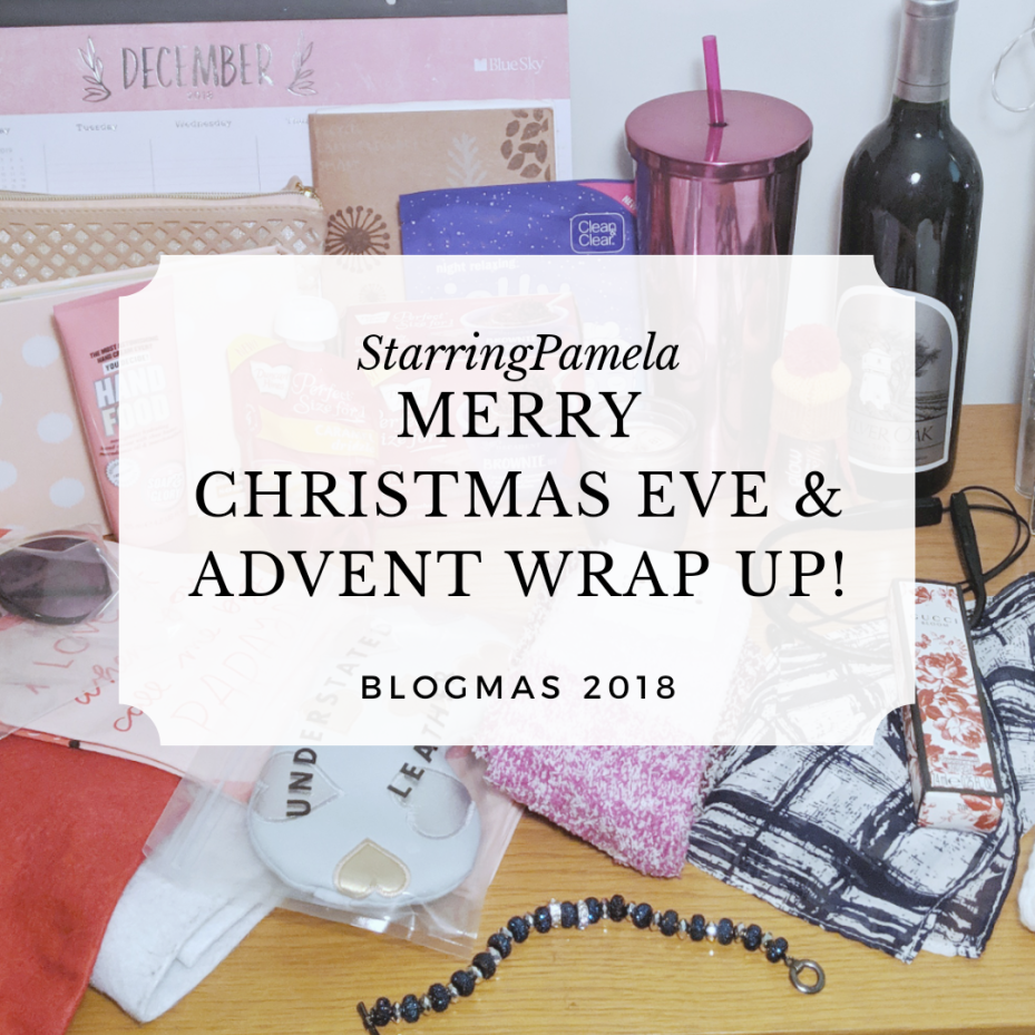 merry christmas eve featured image blogmas advent calendar 2018