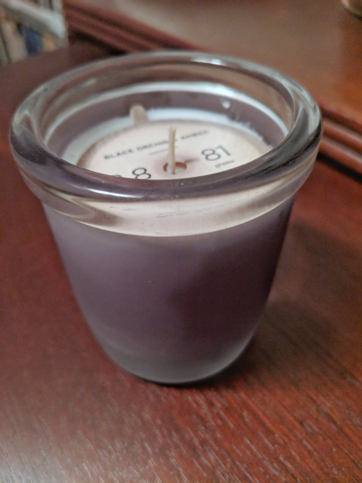 blogmas advent calendar candle