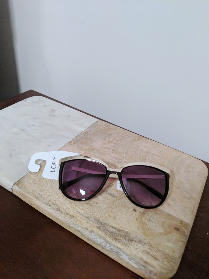 blogmas advent calendar sunglasses loft