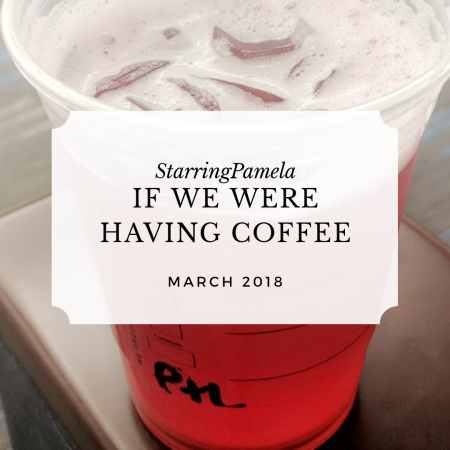 if we were having coffee march 2019