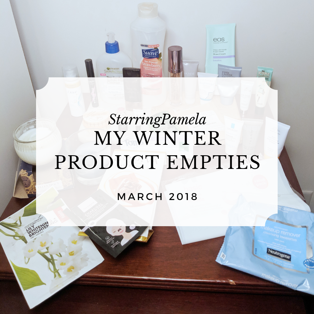 winter 2019 product empties featured image