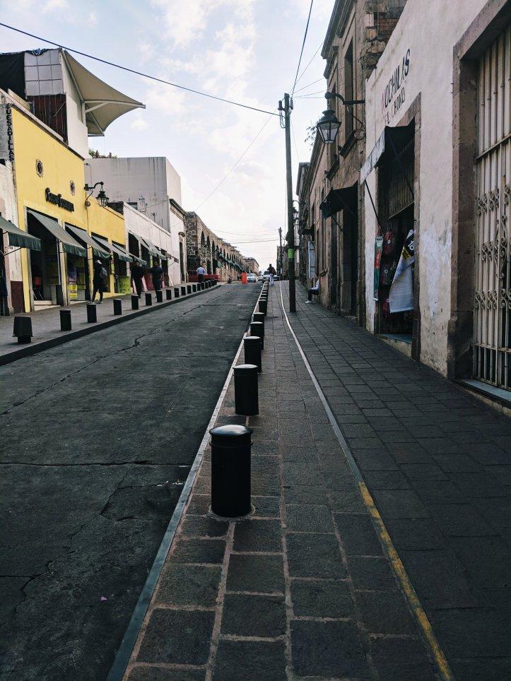 Pamela In Mexico Morelia Streets