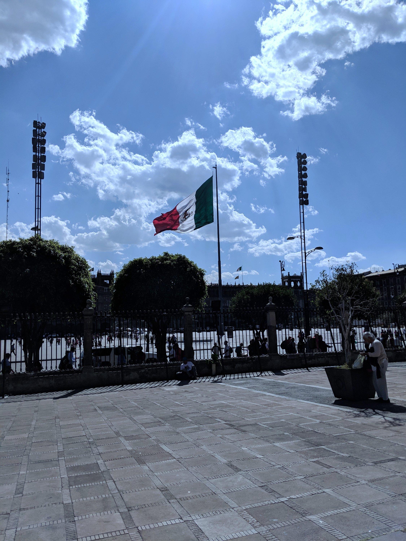 Pamela In Mexico Zocalo