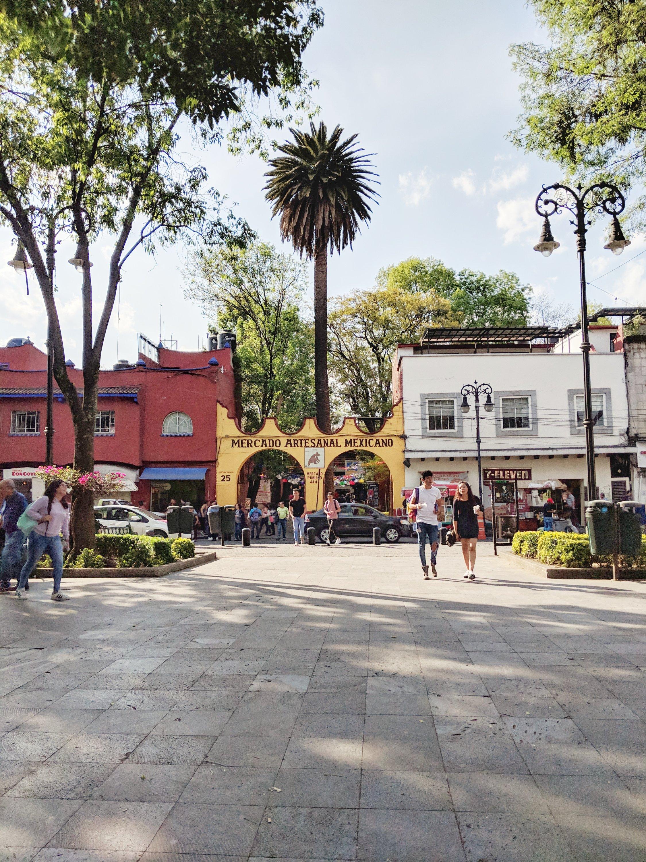 Pamela In Mexico Coyoacan Mercado Artesanal