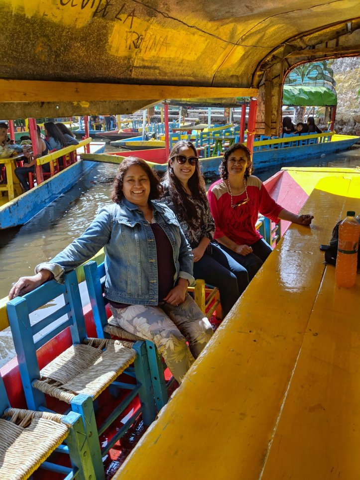 Pamela in Mexico Xochimilco Family