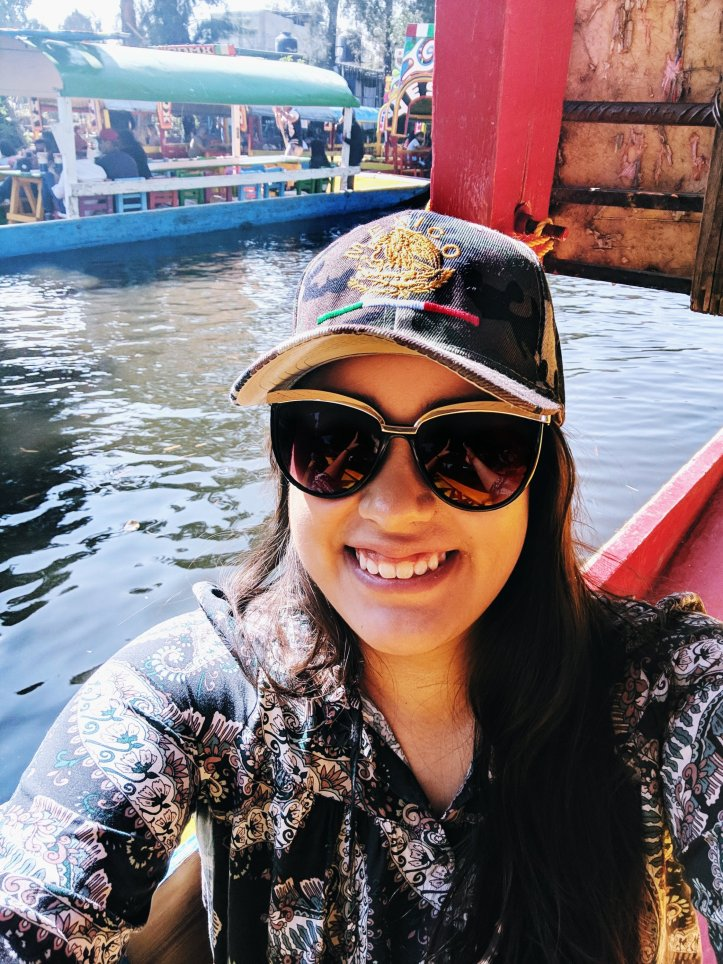 Pamela in Mexico Xochimilco