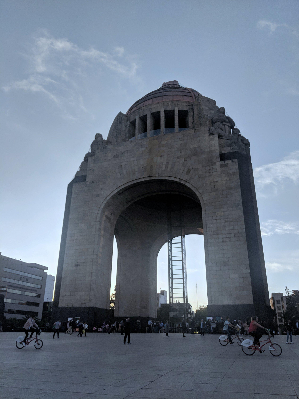 Pamela In Mexico Monumento a la Revolucion