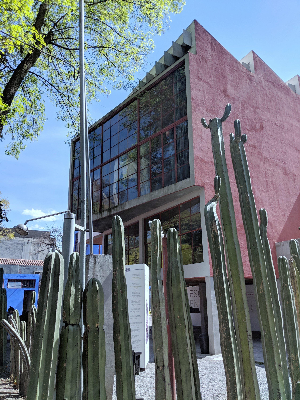 Pamela In Mexico Coyoacan Museo Casa de Estudio Diego Rivera and Frida Kahlo