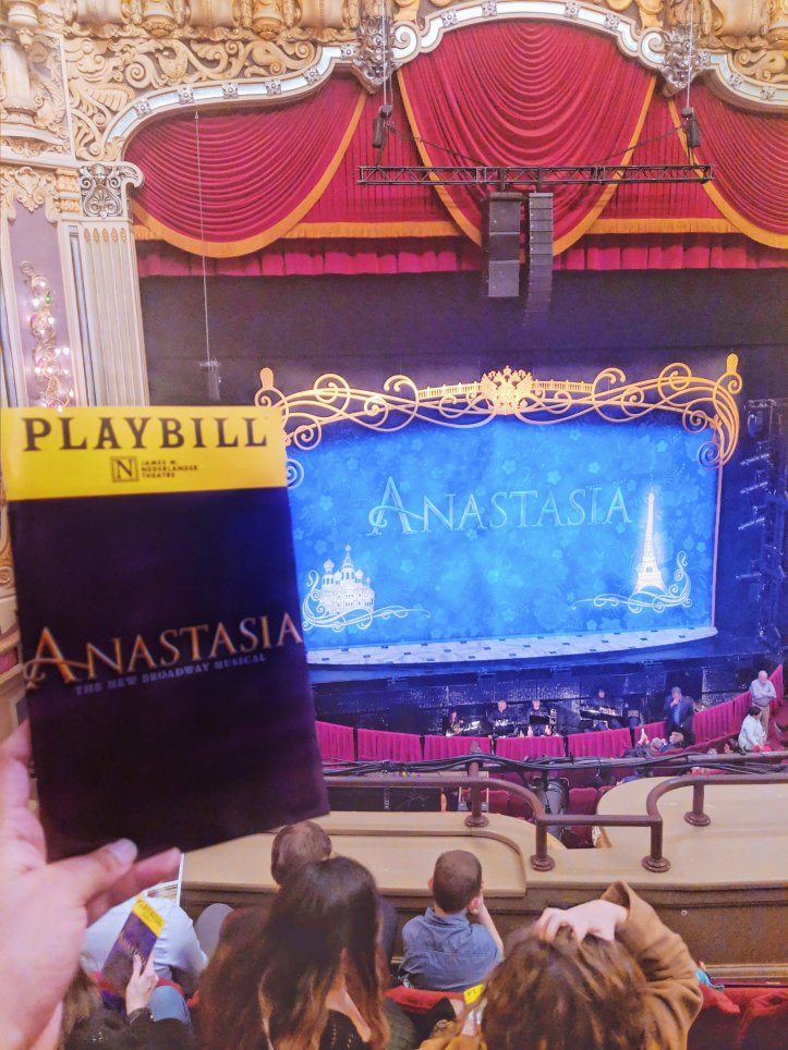 anastasia the musical review