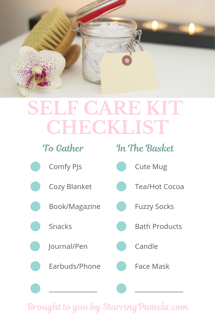 self-care-kit-checklist-starringpamela