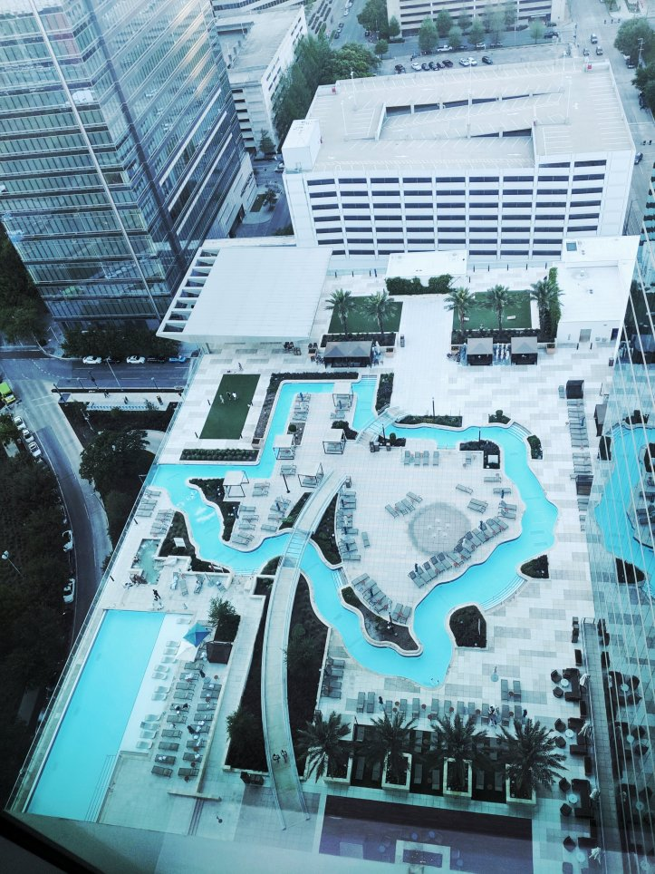 marriott marquis houston pool