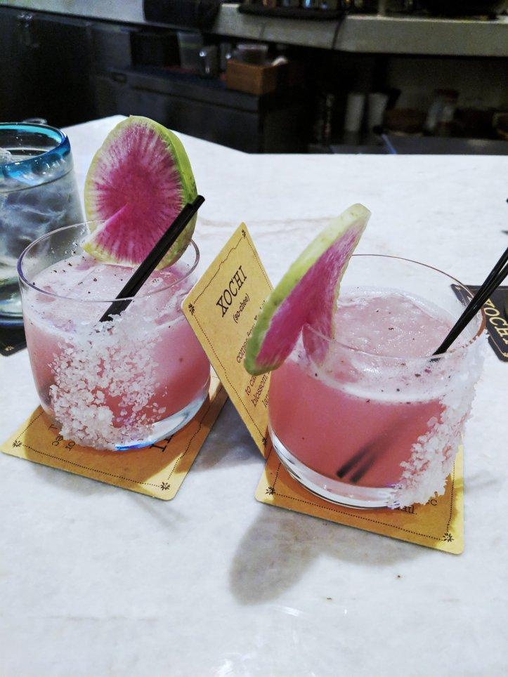 xochi pink escalade drink