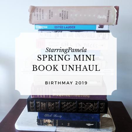 spring mini book unhaul featured image