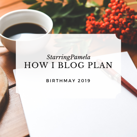 how I blog plan featured image