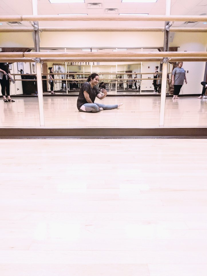 ballet selfie