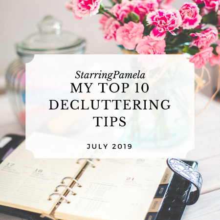 top 10 decluttering tips