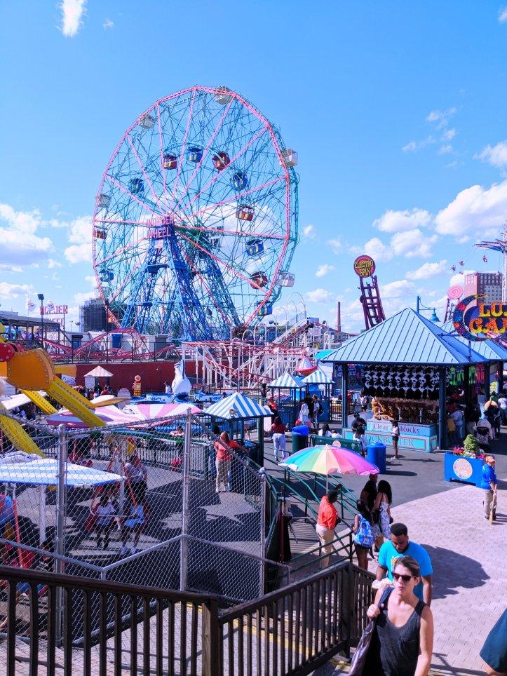 coney island NYC trip