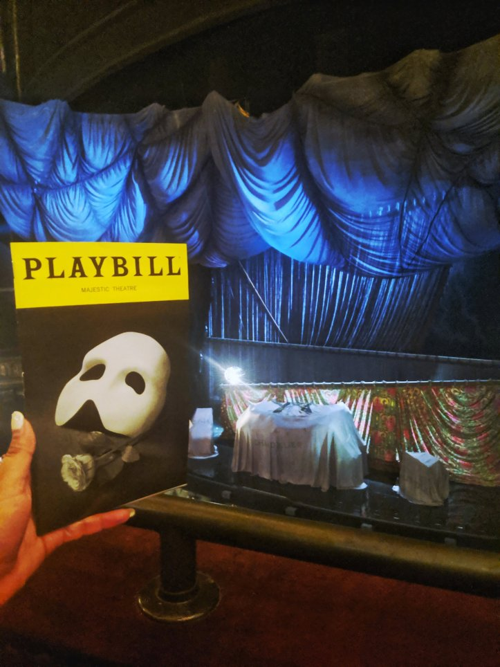 the phantom of the opera NYC trip Broadway