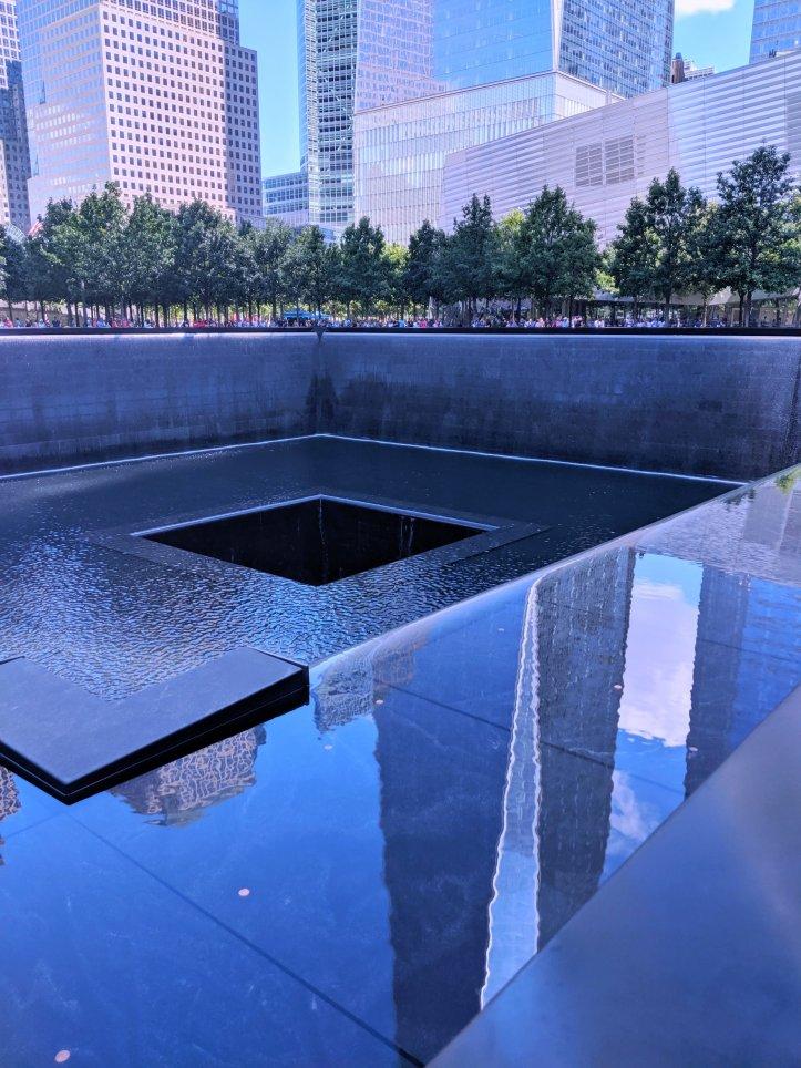 9/11 memorial NYC trip