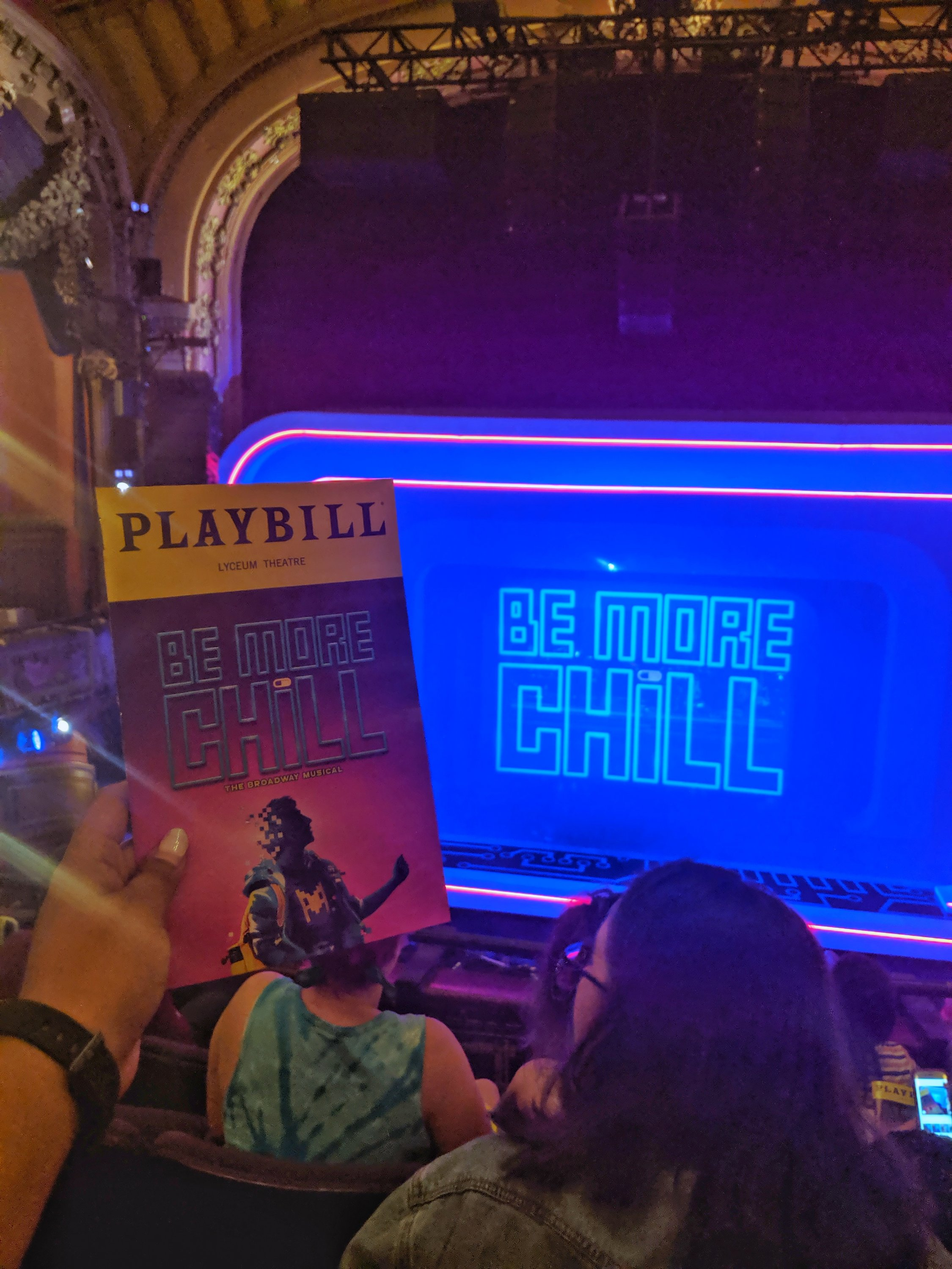 be more chill musical NYC trip