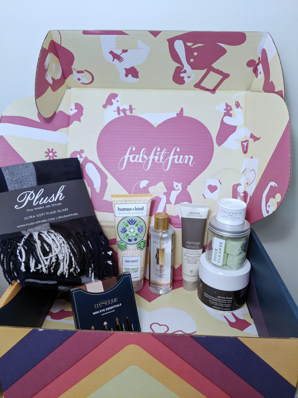 fall 2019 fabfitfun box items