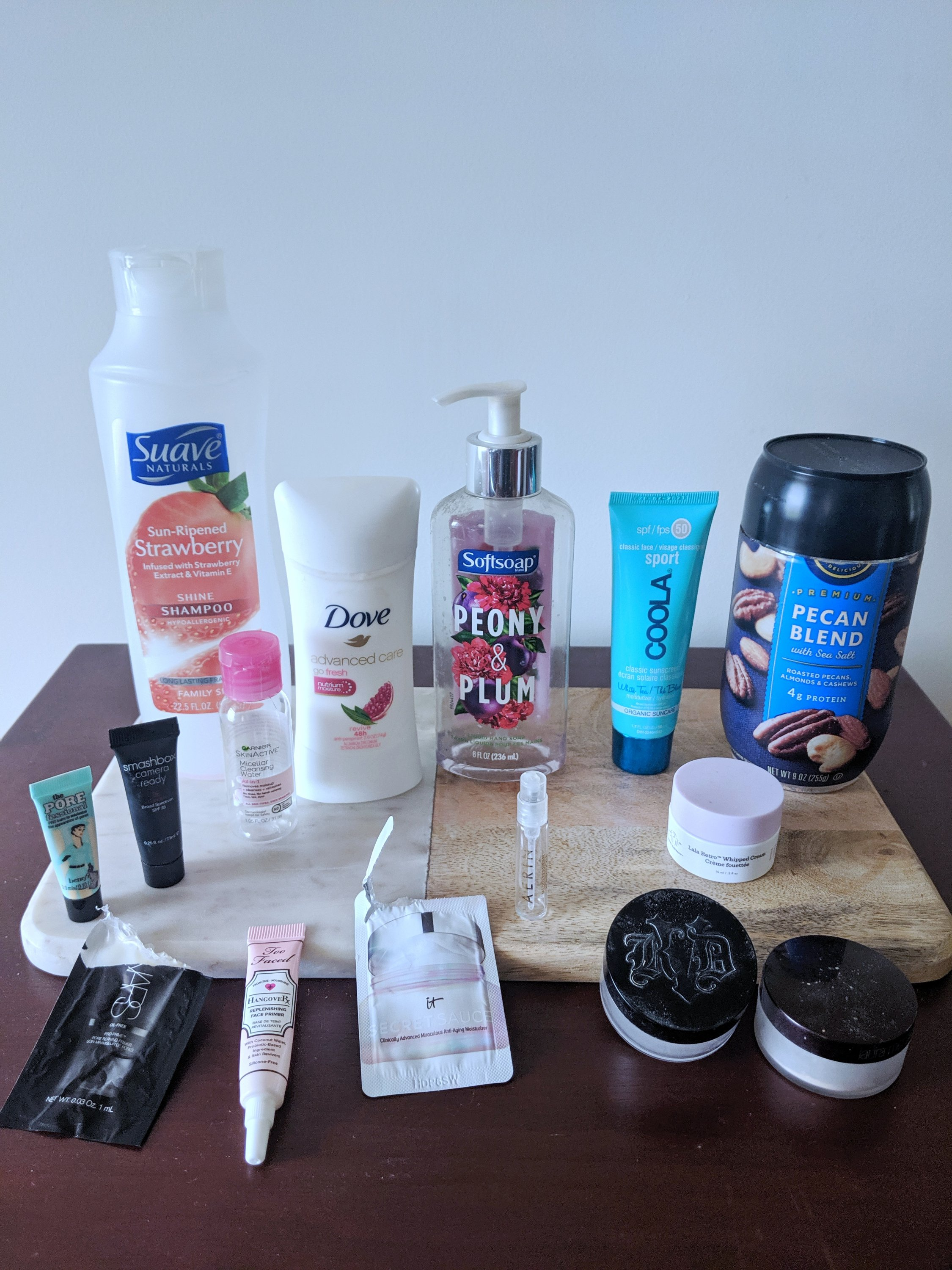 summer 2019 product empties