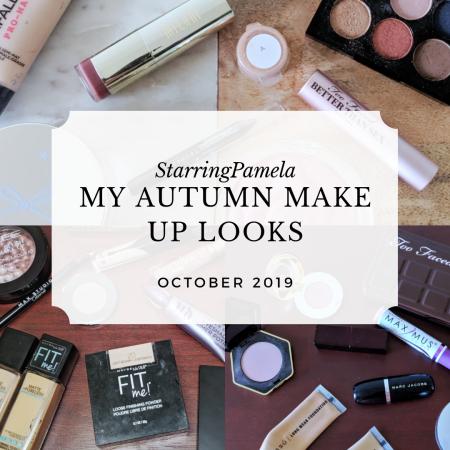 my autumn make up looks