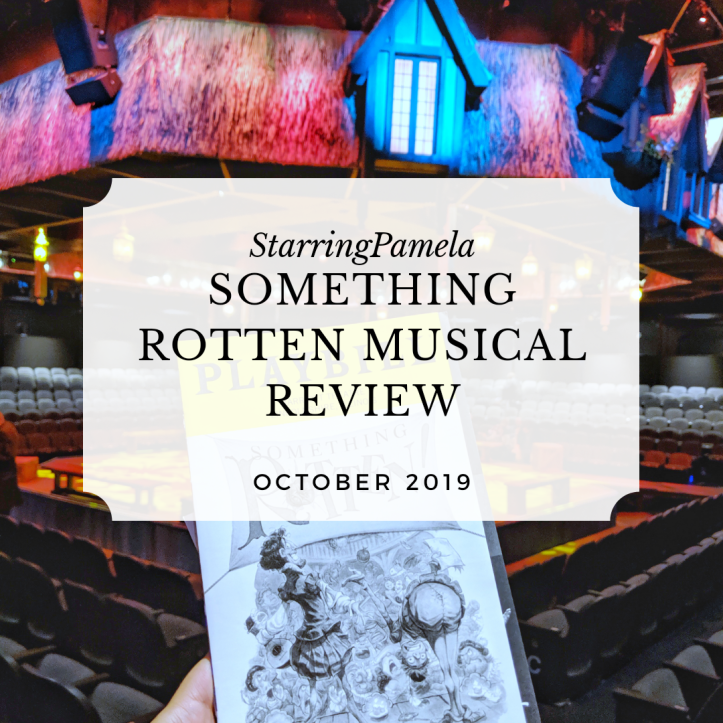 Something Rotten musical review featured image