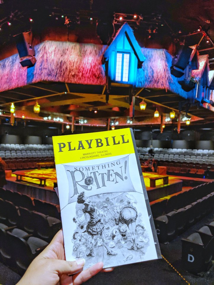 Something Rotten musical review