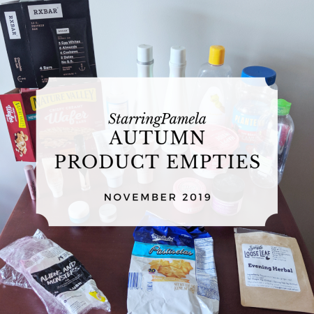autumn product empties featured image