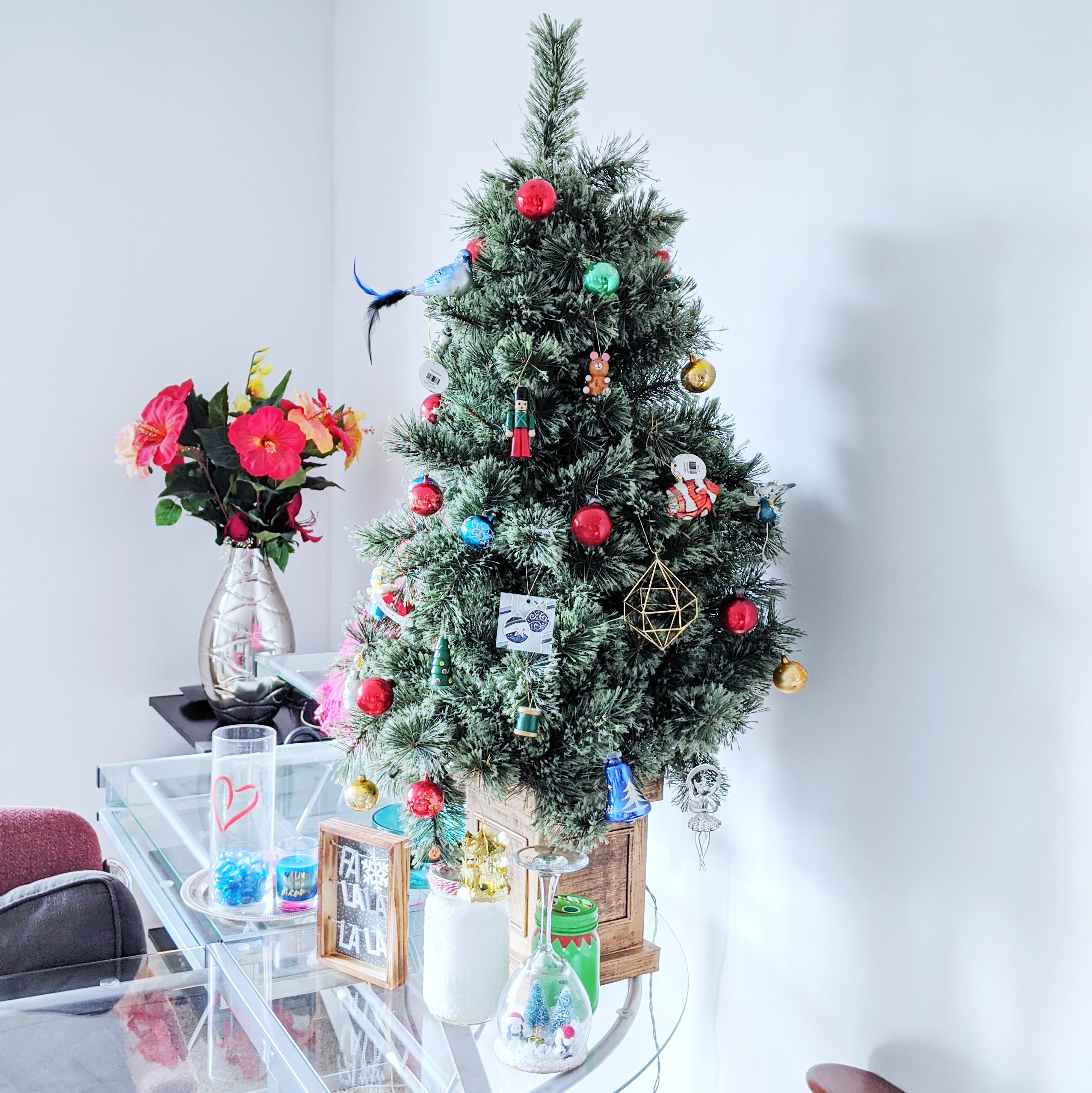 my little christmas tree daytime light