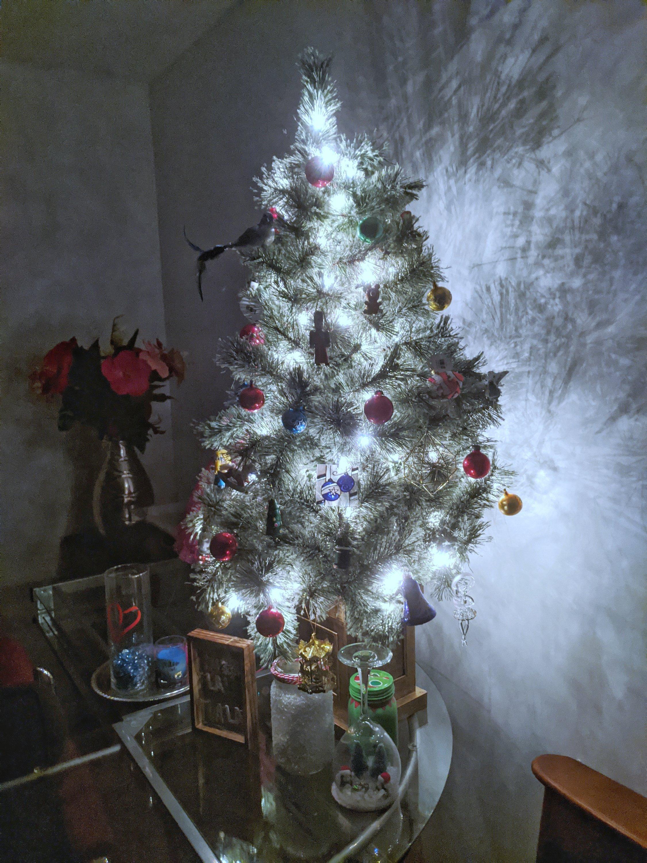 my little christmas tree nighttime light