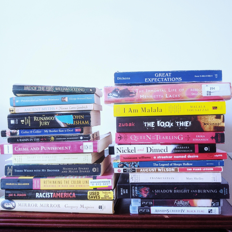 huge winter book unhaul