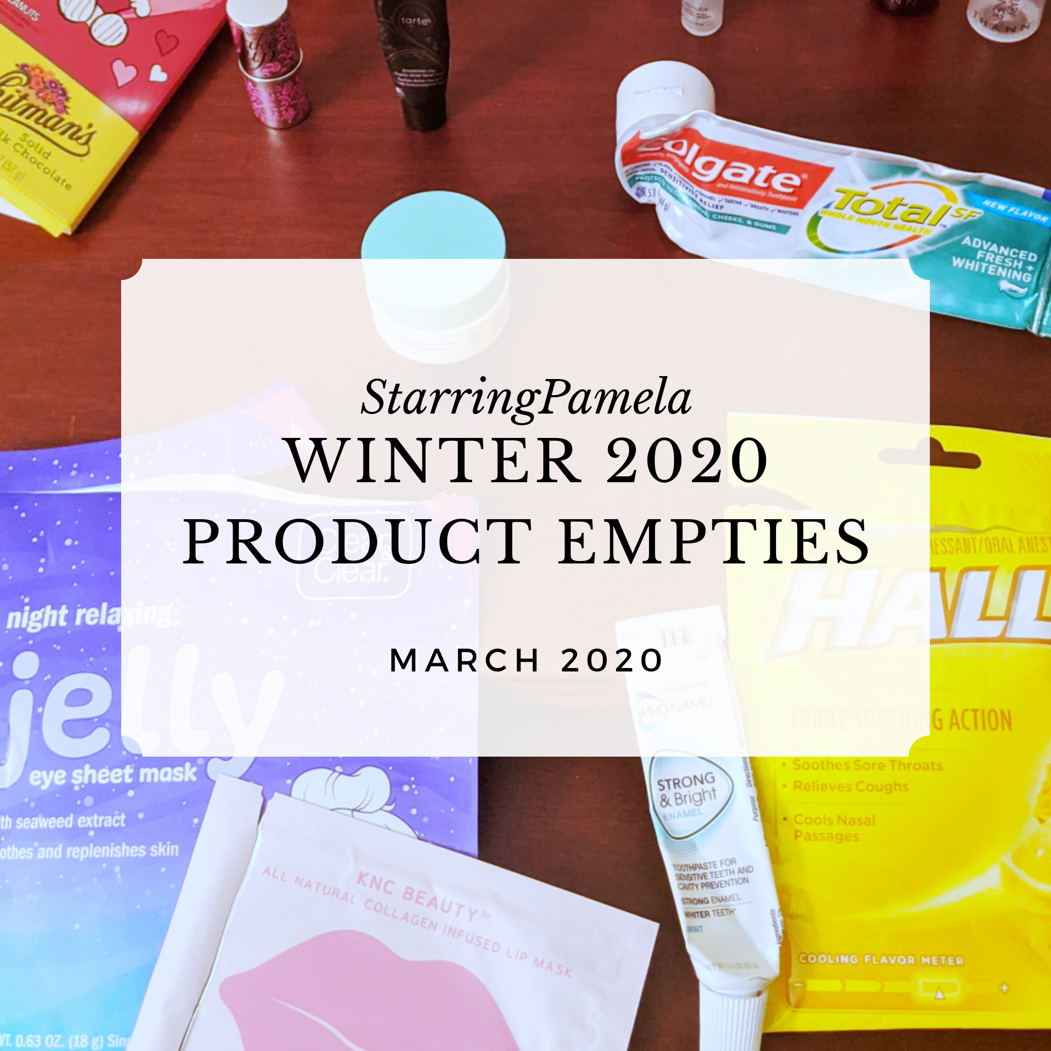 winter 2020 product empties featured image
