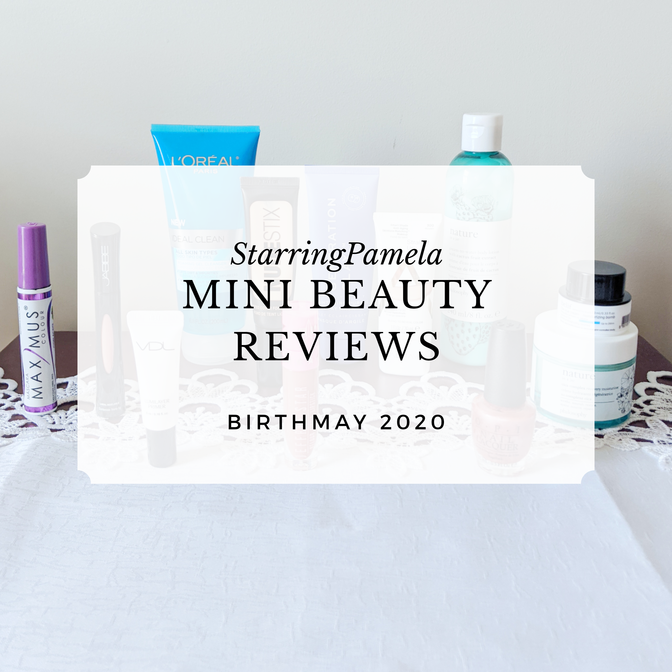 mini beauty reviews featured image