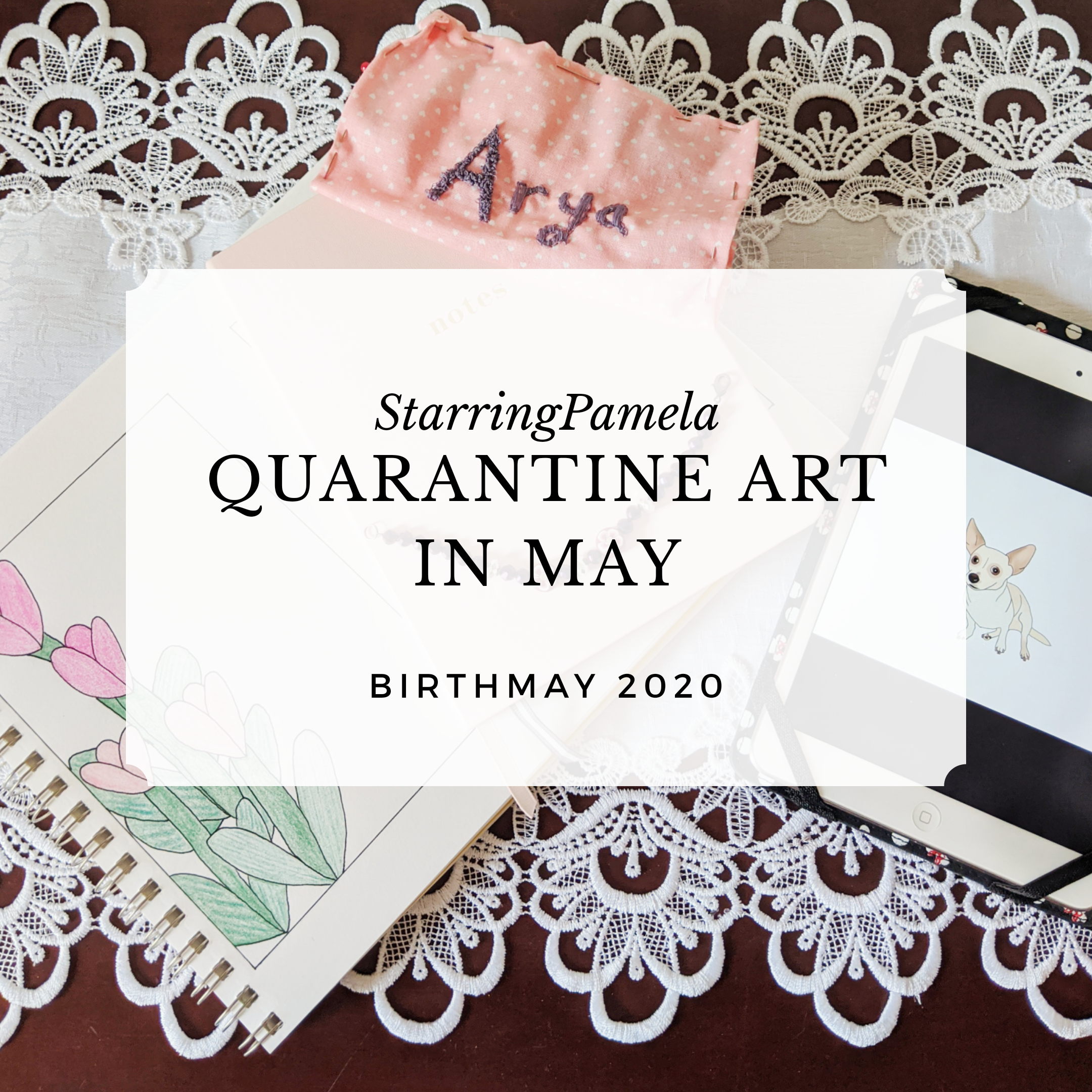 quarantine art in may featured image