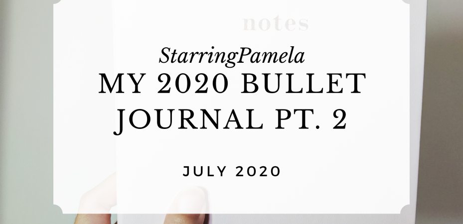 my 2020 bullet journal part 2 featured image