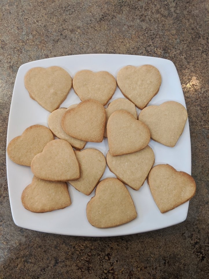 june baking recap lemon shortbread cookies hearts