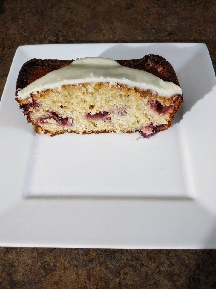 june baking recap lemon strawberry pound cake