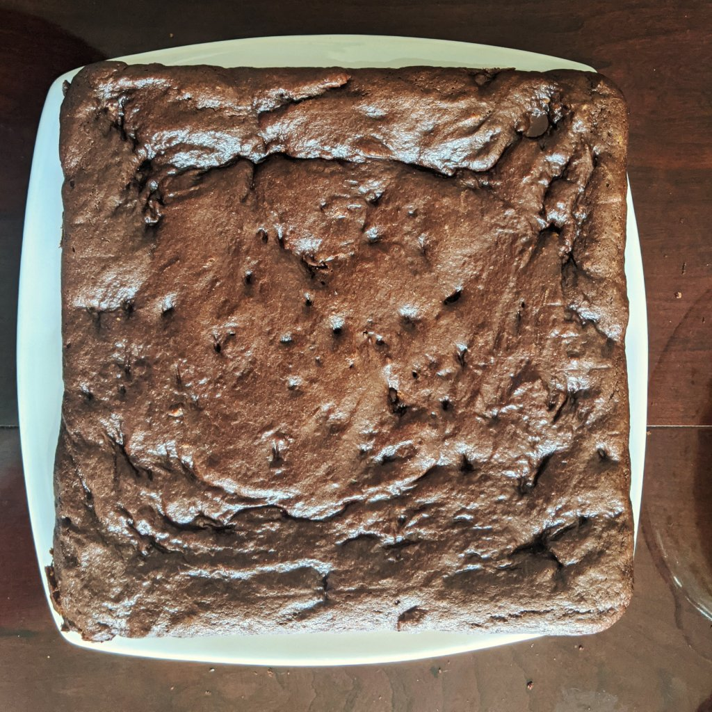 july baking almond butter brownies