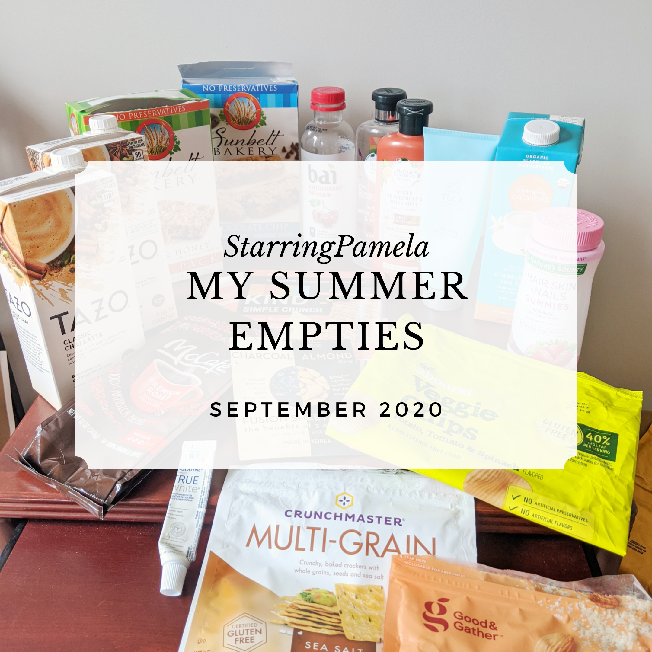 my summer empties 2020 featured image